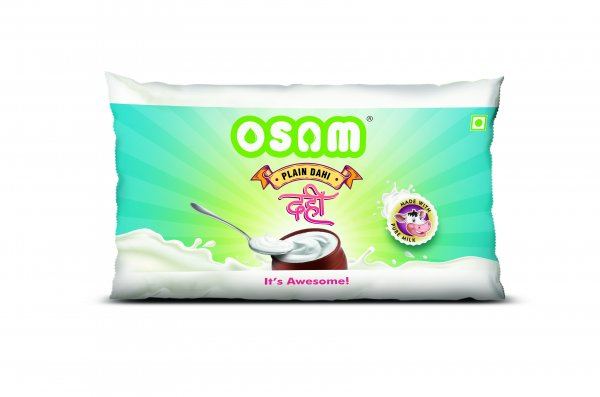 Plain Dahi 180ml pouch